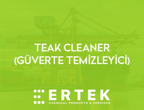 TEAK CLEANER (GÜVERTE TEMİZLEYİCİ)