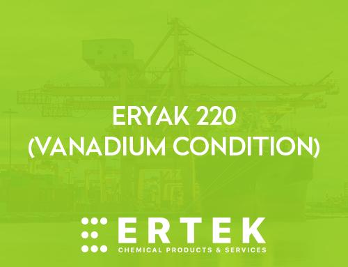 ERYAK 220 (VANADYUM KONTROL)