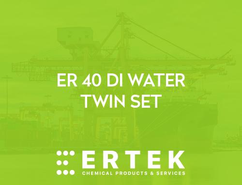 ER-40 DI WATER TWIN & SINGLE SET /ER-40  SAF SU ÜRETME CİHAZI ÇİFT& TEK ÜNİTELİ