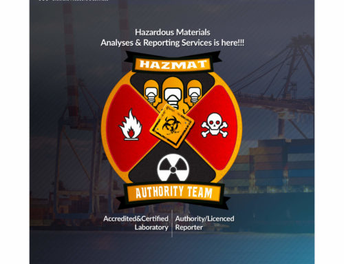 Hazardous Materials Analyses & Reporting Services is Here!